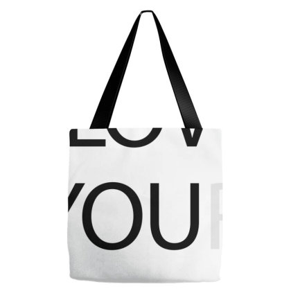 I Love You - Black Tote Bags Designed By Waroenk Design