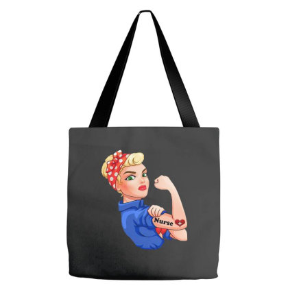 Strong Nurse Tote Bags Designed By Just4you