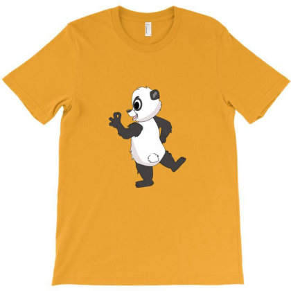 Funny Arrogant Panda T-shirt Designed By Sr88