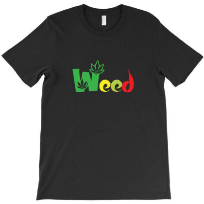 Weed Smoker T-shirt Designed By Sr88