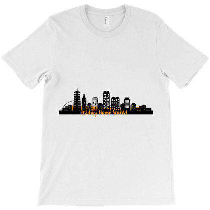 Stayhome T-shirt Designed By Uniquetouch