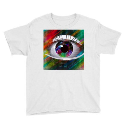Eyes Youth Tee Designed By Vj4170