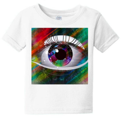 Eyes Baby Tee Designed By Vj4170