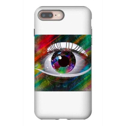 Eyes Iphone 8 Plus Case Designed By Vj4170