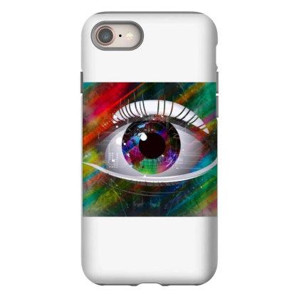 Eyes Iphone 8 Case Designed By Vj4170