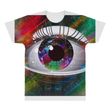 Eyes All Over Men's T-shirt Designed By Vj4170