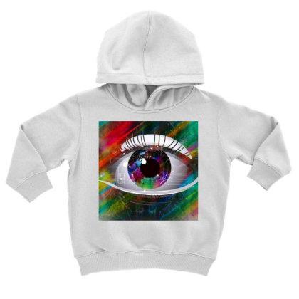 Eyes Toddler Hoodie Designed By Vj4170