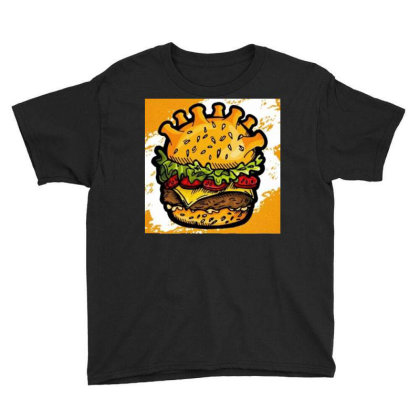 Burger Youth Tee Designed By Vj4170