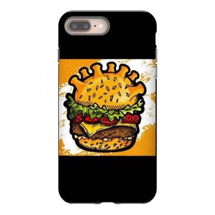 Burger Iphone 8 Plus Case Designed By Vj4170