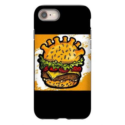 Burger Iphone 8 Case Designed By Vj4170