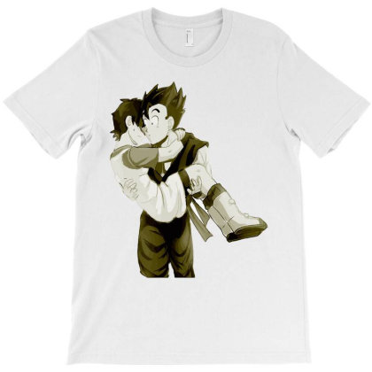 Dragonball Gohan And Videl Couple T-shirt Designed By Coolstars