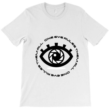 Eye2 T-shirt Designed By Uniquetouch