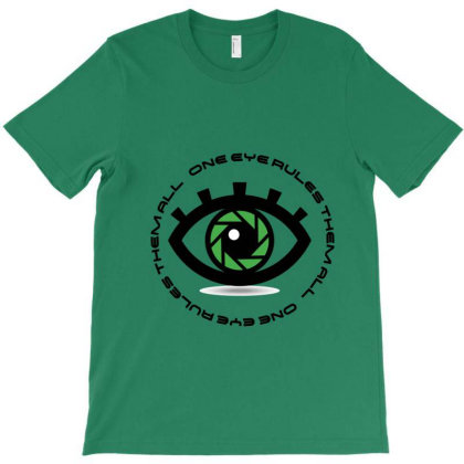 Eye3 T-shirt Designed By Uniquetouch