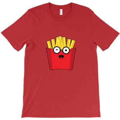 French Fries T-shirt Designed By Sr88