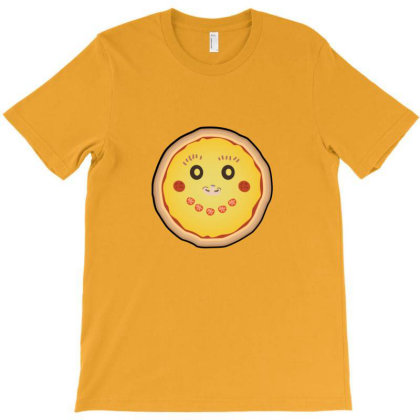 Funny Pizza Face T-shirt Designed By Sr88