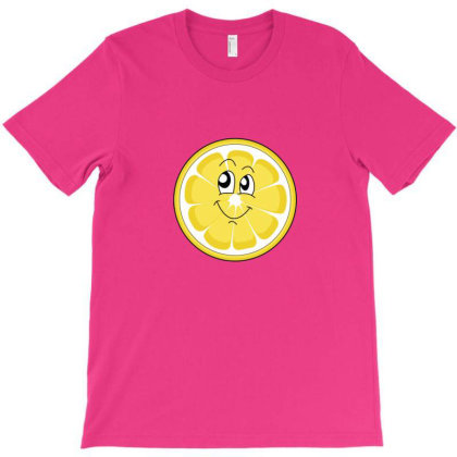 Lemon Slince Smile T-shirt Designed By Sr88