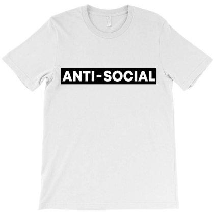 Anti Social T-shirt Designed By Honeysuckle