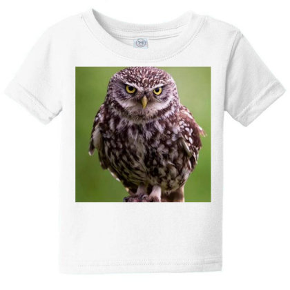 Owls Baby Tee Designed By Vj4170