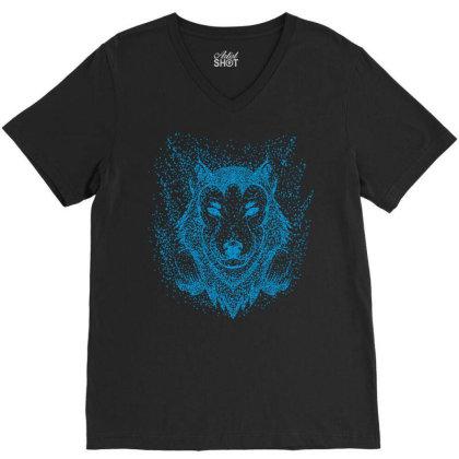 Wolf V-neck Tee Designed By Estore