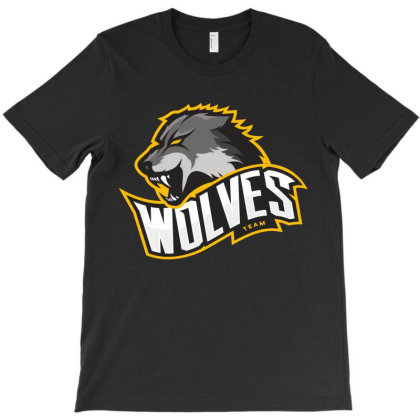 Wolf T-shirt Designed By Estore
