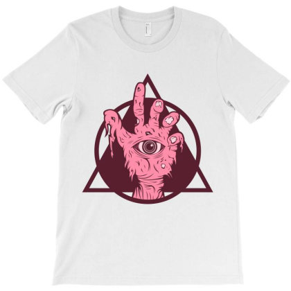 Zombie Hand T-shirt Designed By Estore
