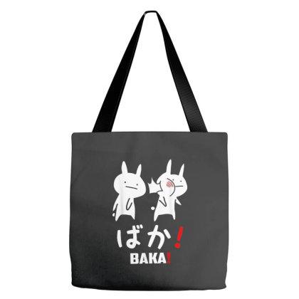 Funny Anime Baka Rabbit Slap Japanese Tote Bags Designed By Mrt90
