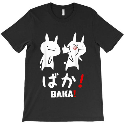 Funny Anime Baka Rabbit Slap Japanese T-shirt Designed By Mrt90