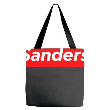 Sanders Red Box Tote Bags Designed By Honeysuckle