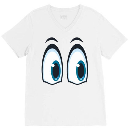 Eyes V-neck Tee Designed By Estore