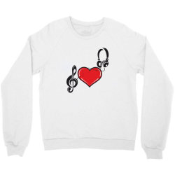 Love music Crewneck Sweatshirt | Artistshot