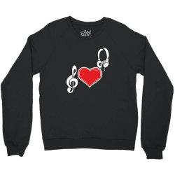Love music Crewneck Sweatshirt   Artistshot