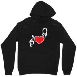 Love music Unisex Hoodie   Artistshot