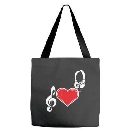Love Music Tote Bags Designed By Estore