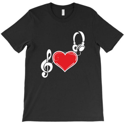 Love Music T-shirt Designed By Estore