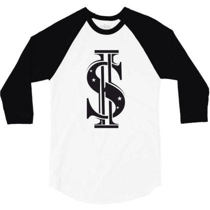 Dollar 3/4 Sleeve Shirt Designed By Estore