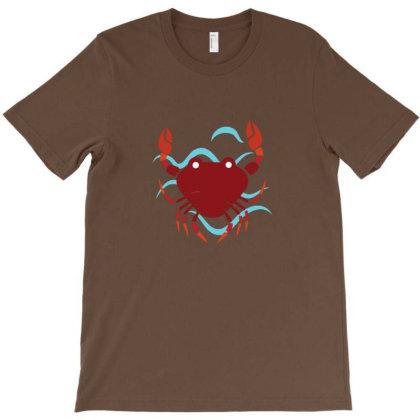 Crab Lover T-shirt Designed By Sr88