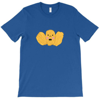 Funny Potato Chips Face T-shirt Designed By Sr88