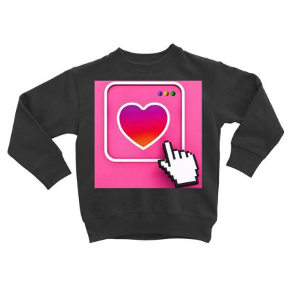 Love To People Toddler Sweatshirt Designed By Vj4170