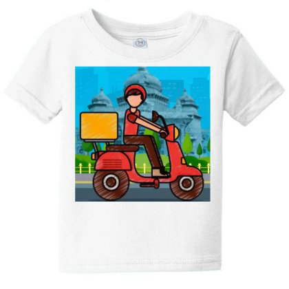 Home Delivery Baby Tee Designed By Vj4170