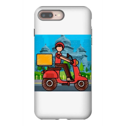 Home Delivery Iphone 8 Plus Case Designed By Vj4170