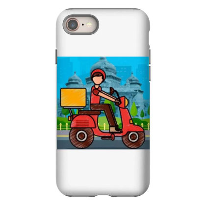 Home Delivery Iphone 8 Case Designed By Vj4170