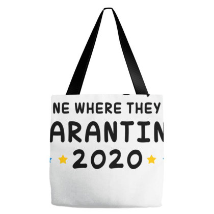 Seniors The One Where They Were Quarantined 2020 Tote Bags Designed By Honeysuckle