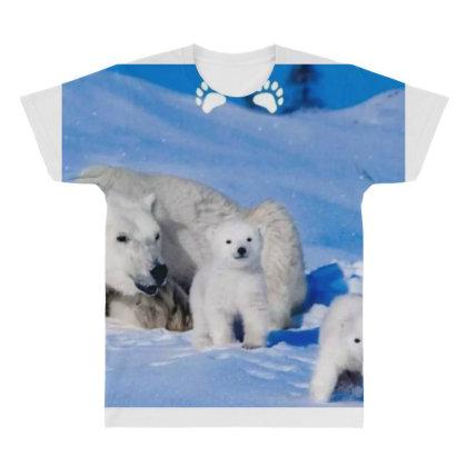 Bears All Over Men's T-shirt Designed By Vj4170
