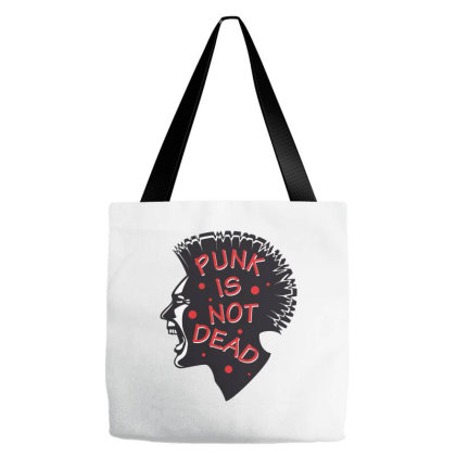 Punk Is Not Dead Tote Bags Designed By Estore