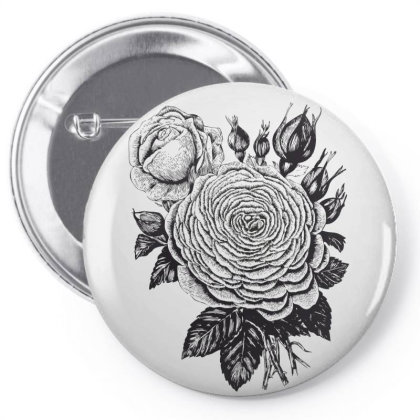 Flowers Pin-back Button Designed By Estore