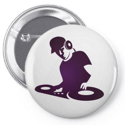 Dj Pin-back Button Designed By Estore