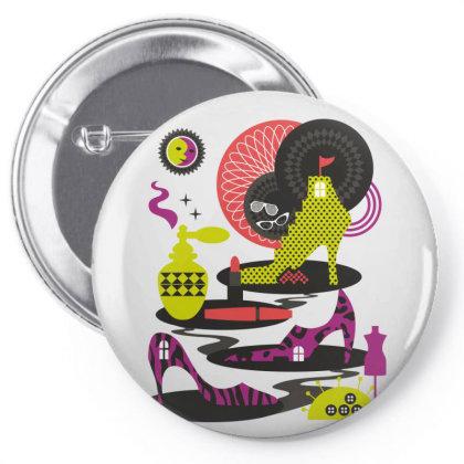 Art Pin-back Button Designed By Estore