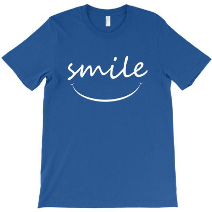 Smile T-shirt Designed By Charisma