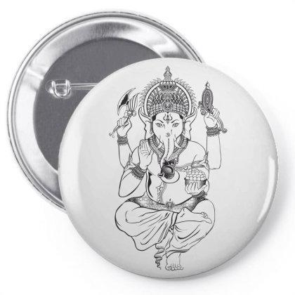 India Pin-back Button Designed By Estore