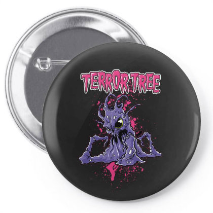 Terror Tree Pin-back Button Designed By Estore
